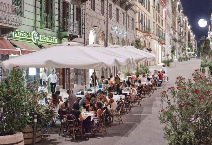 Caff giuliani bar enoteca pizzeria ristorante ancona riviera del conero tv - Ristorante il giardino ancona ...