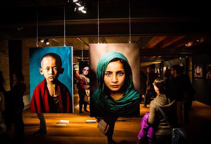 Mostra steve mccurry icons riviera del conero tv for Steve mccurry icons